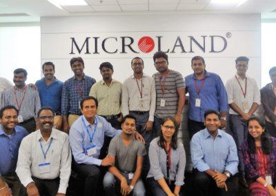 Team, Building Brand You @Microland