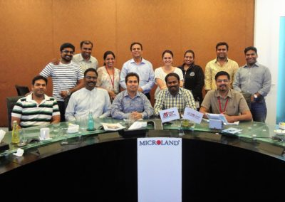 Team Executive performance and development program, @Microland