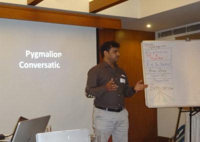Pygmalion conversation, Pymalion Leadership Program@Halcycon
